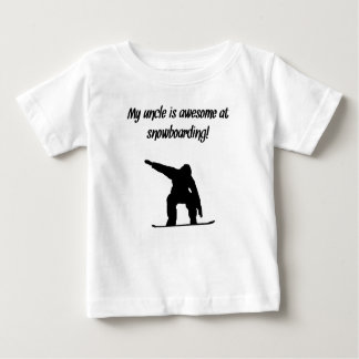 My Uncle Is Awesome At Snowboarding T-shirt