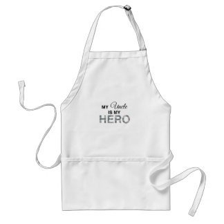 My Uncle is my Hero Digital Camouflage Adult Apron