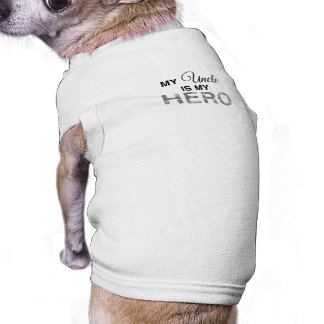 My Uncle is my Hero Digital Camouflage Dog Clothing