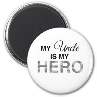 My Uncle is my Hero Digital Camouflage Fridge Magnets