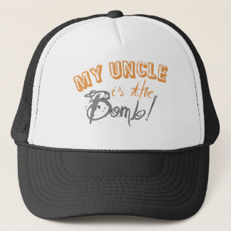 my uncle is the bomb trucker hat