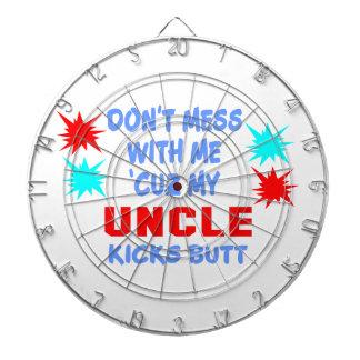 MY UNCLE KICKS BUTT DARTBOARDS