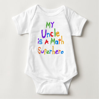 My Uncle Math Superhero T-shirts and Gifts