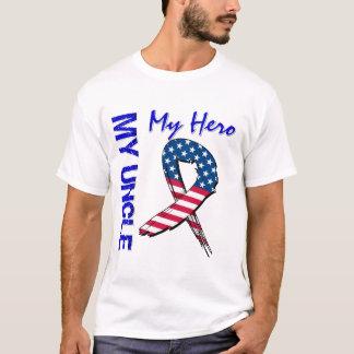 My Uncle My Hero Patriotic Grunge Ribbon T-Shirt