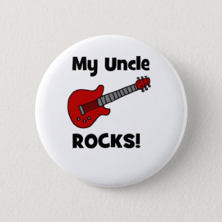 My Uncle Rocks! with guitar Button