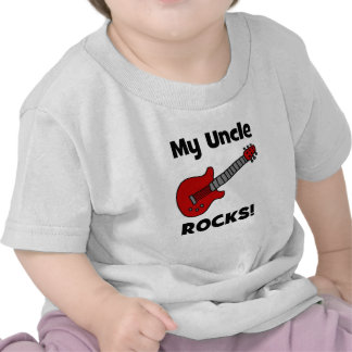 My Uncle Rocks! with guitar Tee Shirts