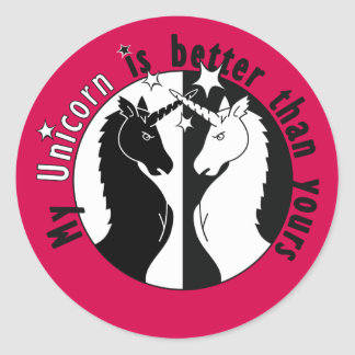 My Unicorn is Better Sticker