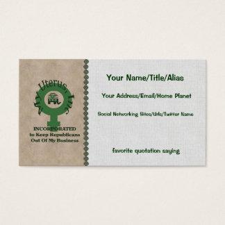 My Uterus, Inc Business Card