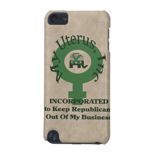 My Uterus, Inc iPod Touch 5G Cases