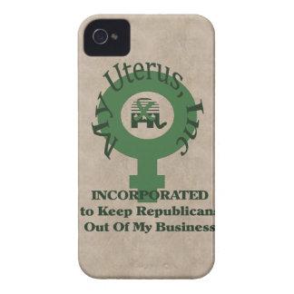 My Uterus, Inc iPhone 4 Case-Mate Case
