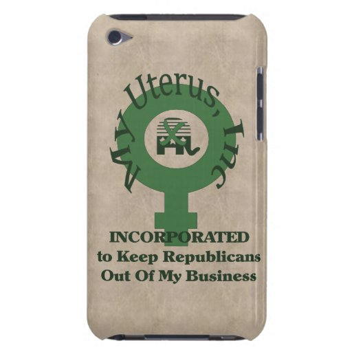 My Uterus, Inc Barely There iPod Case