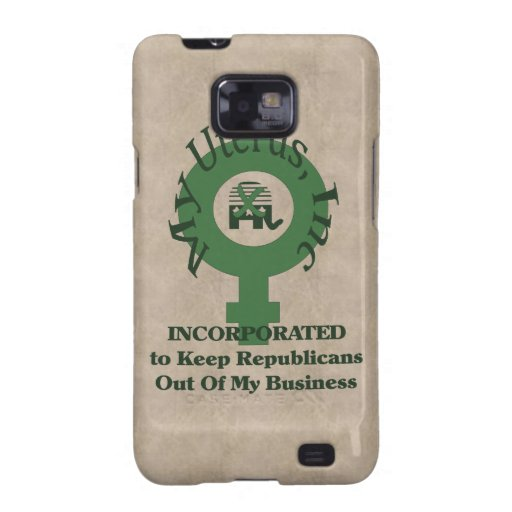 My Uterus, Inc Samsung Galaxy Cases