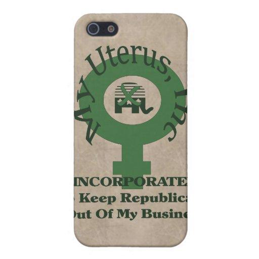 My Uterus, Inc iPhone 5 Cover