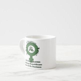 My Uterus Inc Espresso Cup