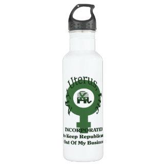 My Uterus, Inc Water Bottle