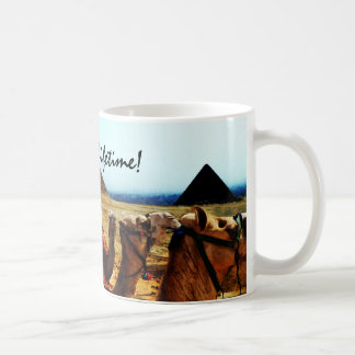 My vacation of a lifetime! Egyptian camel mug