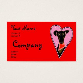 My Valentine Business Card