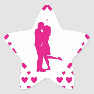 My Valentine Day_Pink.jpg Star Sticker