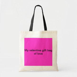 My valentine gift bag of love.