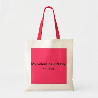 My valentine gift bag of love