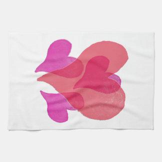 My Valentine Hearts Towel