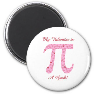 My Valentine is a Geek Magnets