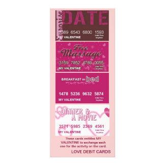 My Valentine Love Debit Cards