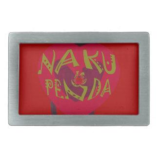 My Valentine love you Nakupenda Kenya Swahili Art. Belt Buckle