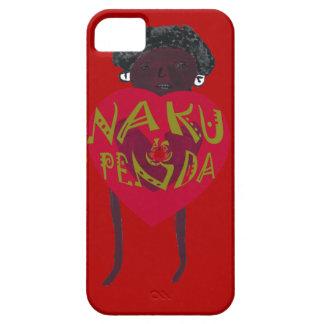 My Valentine love you Nakupenda Kenya Swahili Art. iPhone SE/5/5s Case