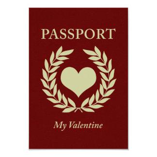 my valentine passport card