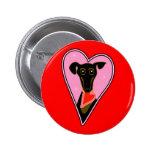 My Valentine Pinback Button