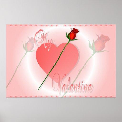 My Valentine Print
