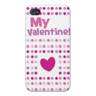 My Valentine spotty card products Cover For iPhone 4