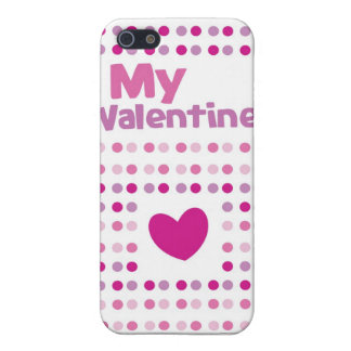 My Valentine spotty card products iPhone SE/5/5s Case