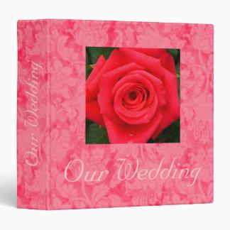 "My Valentine Wedding Album - Avery 2"" Binder"