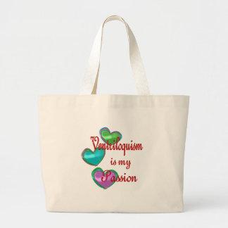 My Ventriloquism Passion Jumbo Tote Bag