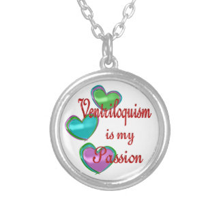 My Ventriloquism Passion Necklace
