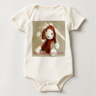 my very soft security blanket baby bodysuit