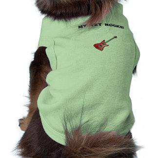 """""""My Vet Rocks"""" Dog Shirt"""