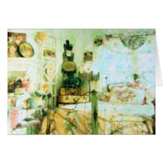 My Victorian Bedroom Card