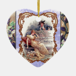My Victorian Valentine Ceramic Ornament
