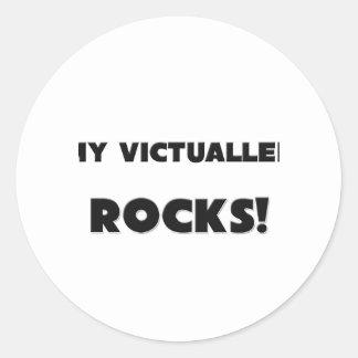 MY Victualler ROCKS! Sticker