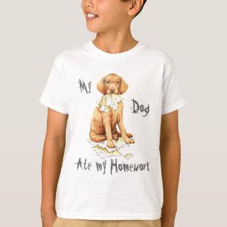 My Vizsla Ate My Homework T-Shirt