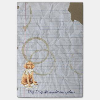 My Vizsla Ate my Lesson Plan Post-it® Notes