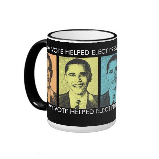 My Vote Helped Elect Barack Obama Mug