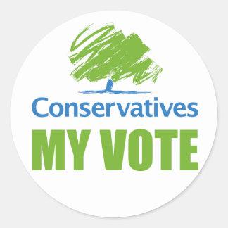 MY VOTE Sticker