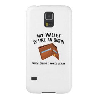 My Wallet Is Like An Onion Galaxy S5 Case