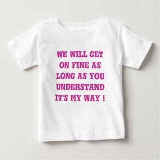 My way baby T-Shirt