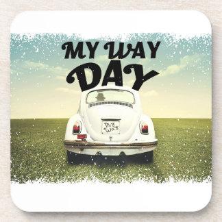 My Way Day - Appreciation Day Beverage Coaster