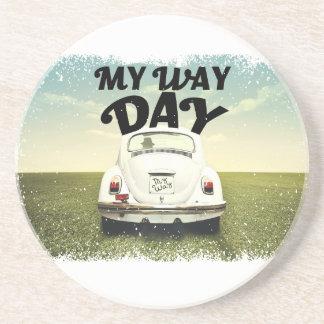 My Way Day - Appreciation Day Drink Coaster